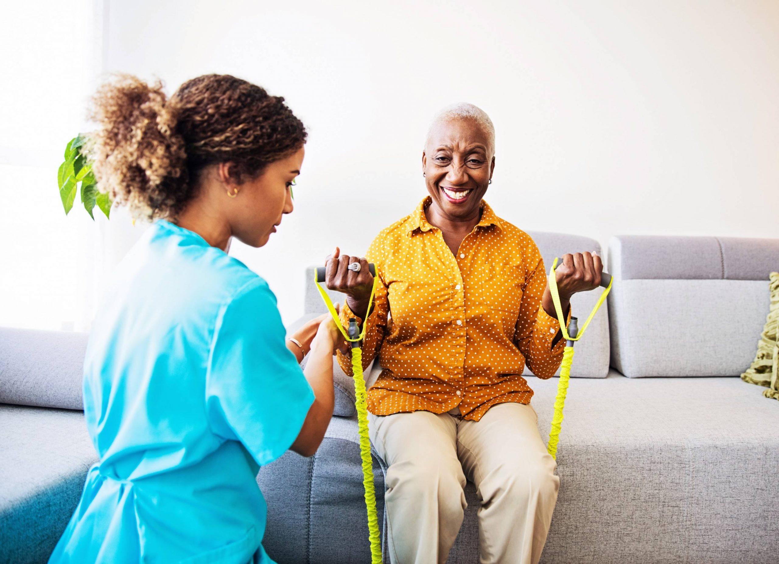 Serviços de fisioterapeuta home care