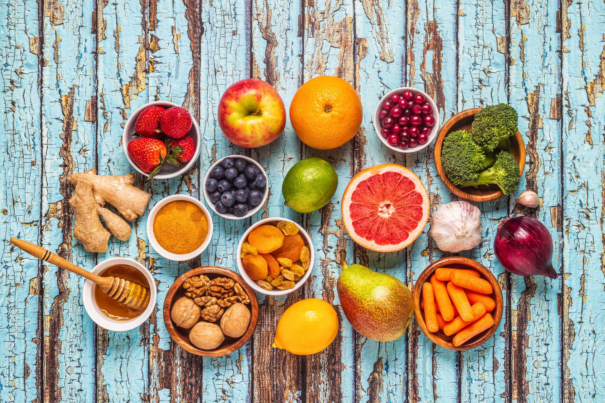 Ótimos alimentos para melhorar a imunidade